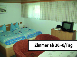 Zimmer ab 30.-€ Tag